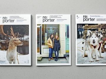 Thumbnail for Re:Porter inflight magazine.