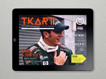 Thumbnail for TKart digital magazine.